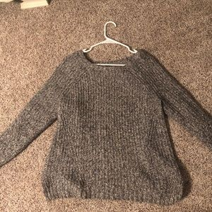Gray sweater from American Eagle